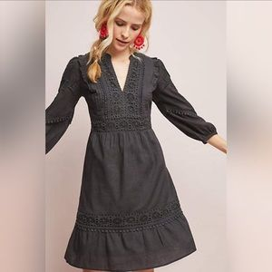 Anthropologie Akemi + Kin Embroidered Dress NWT